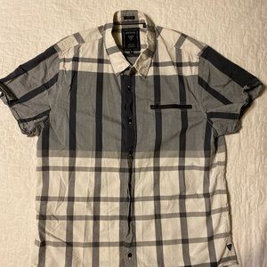 Men's Plaid Slim Fit Shirt